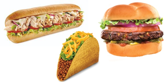 Which famous fast food chain is not from America?