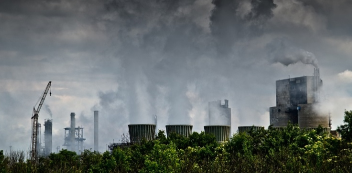 Industrial manufacturing practices are the primary reason the earth's air is polluted. You