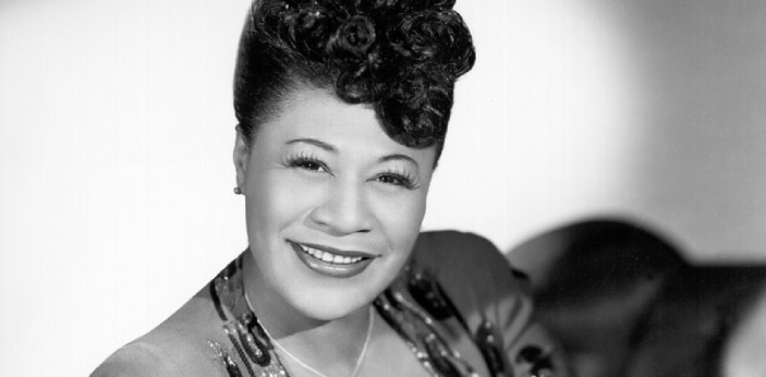 Ella Fitzgerald and Louis Armstrong met at the new Capitol in Hollywood, for a recording session.