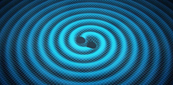 Gravitational radiation are waves that cause disturbances in the curvature of time and space. They