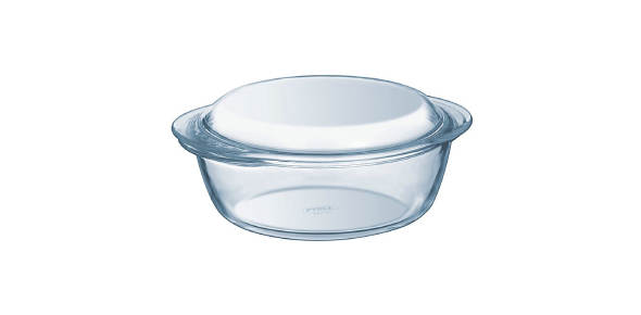 Glass is made of the same ingredients as Pyrex, but they both have different properties. Pyrex is