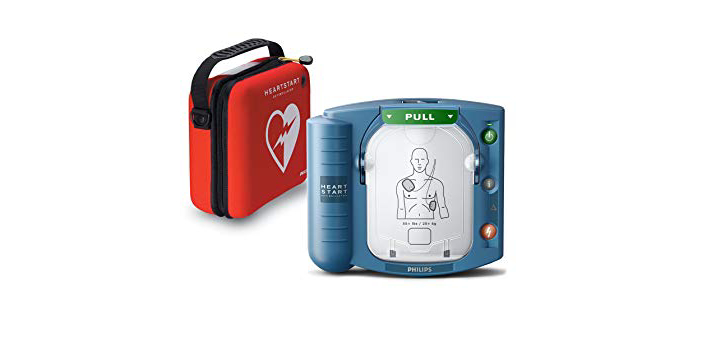 There is no real difference between AED and a Defibrillator. Both machines are used in