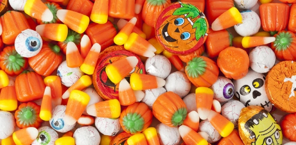 How can I make my own Halloween candy?