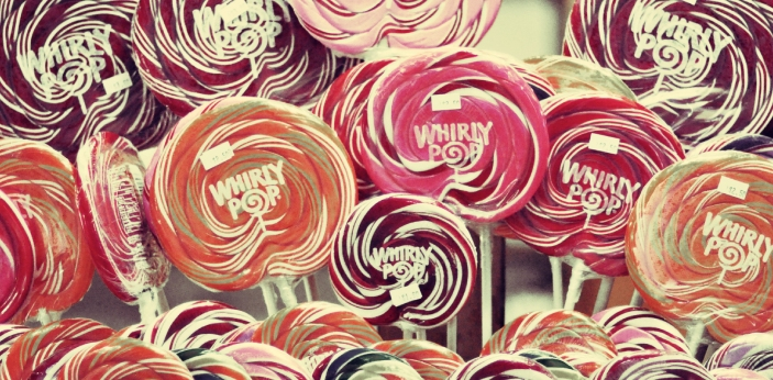 Confectionery is another name for sweet candy. Lollies are lollipops. Natural confectioneries are