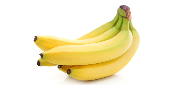The color of the banana is  Yellow. Most often than not, the bananas that we consume are yellow.