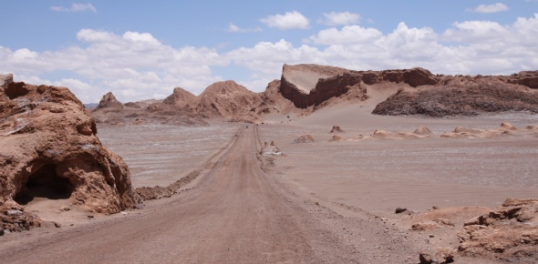 How come the Atacama is extremely dry when it is so close to the ocean? This is a challenging