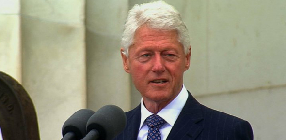 Bill Clinton is a former president of the U.S. His last year as president was over 18 years ago.