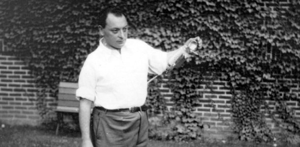 Wolfgang Pauli was Albert Einstien's idol and vice-versa. Whenever he was bored in one of his