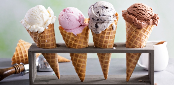 What are some of the craziest flavor of ice creams?