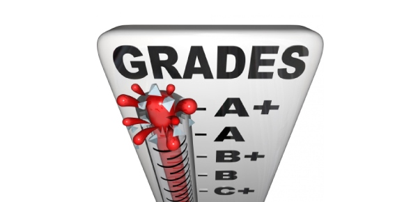 What is Jamal's grade point average if each A is worth 4 points; each B, 3 points; and each C, 2 points?<br/> B= 20 %A= 70%C= 10%? The distribution of Jamal's high school grades by percentage of course credits is given in the circle graph below.