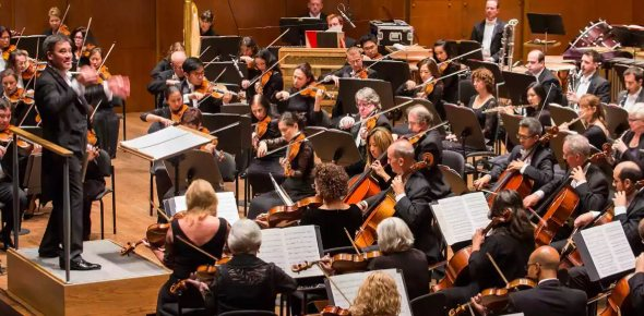 Do orchestras contain electric instruments?