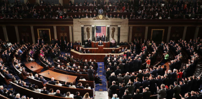 Congress develops, proposes, ratifies bills, and passes laws. The Senate has 100 members, and the