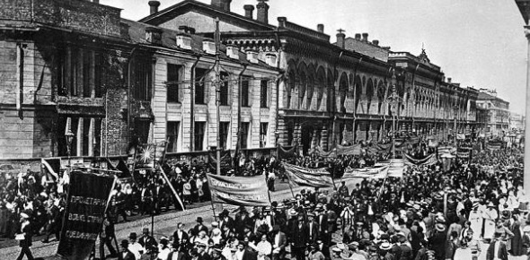 Although the Bolshevik won easily against the provisional government and set themselves up in