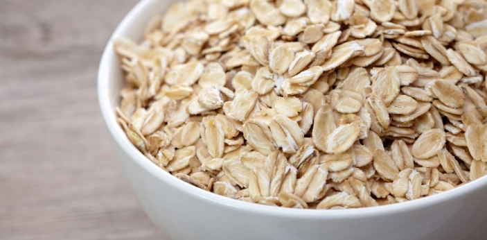 Oatmeal is a kind of porridge, and porridge, when prepared with oat, is made from cracked but whole