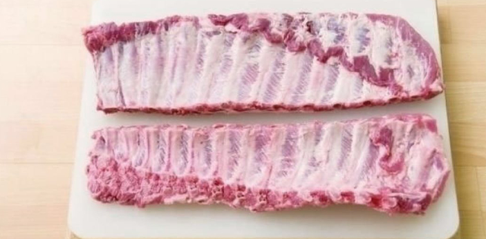 Baby back ribs and spare ribs are usually pig meat, which is pork. They are popularly eaten in Asia