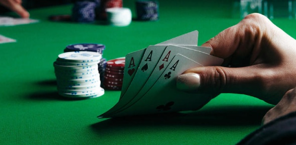 Poker is a game of skill and luck. People will end up getting addicted to for the money. People can