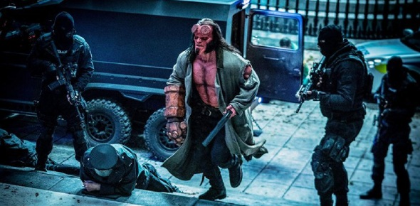 "In-universe, Hellboy's original name is Anung Un Rama which means ""and upon his brow is"