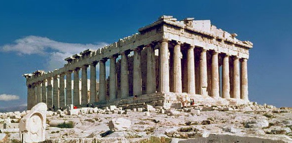 Why was facilitating trades nearly impossible in ancient Greece?