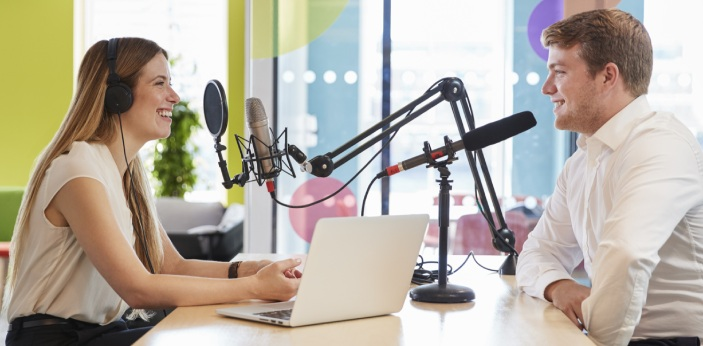 Podcasts have become popular in recent years. The medium started in the 1980s. However, it was able