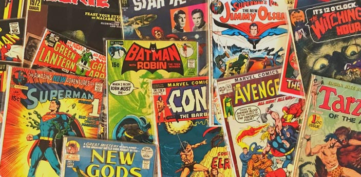 There are actually many types of comic books that are available depending on the genre. Superhero