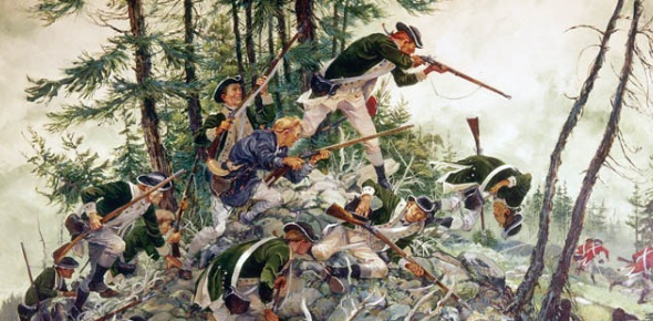 The Penobscot Expedition was a flotilla of ships from the American Navy fighting against the
