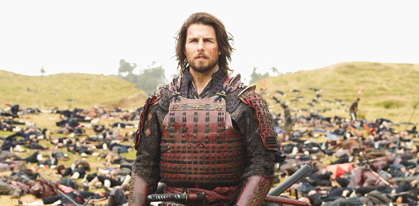 Why is Tom Cruise in the last samurai?