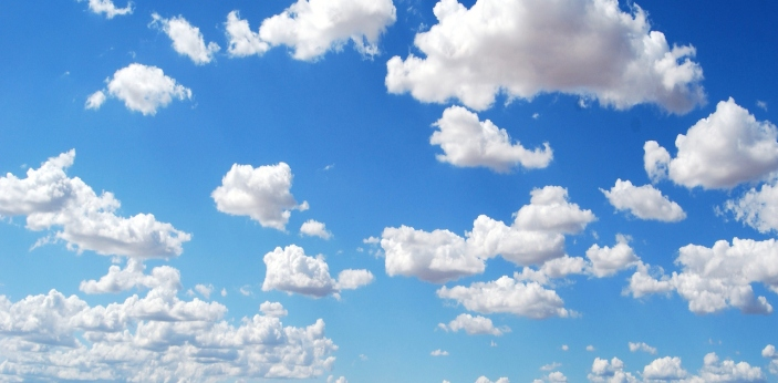 The sky is blue because out of different colors that come from the sunlight, it has the shortest