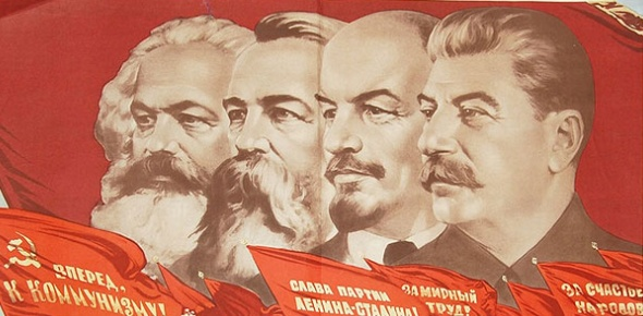 Marxism and socialism are two systems. What they have in common is the belief that assets and