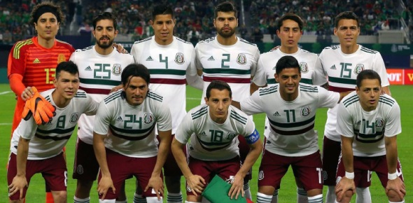 What famous players does Mexico have in their squad?