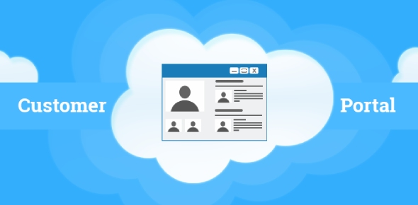 What are the benefits of service cloud (Customer) portal?