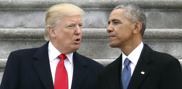 Why did Obama as a president receive more praise than Donald Trump?
