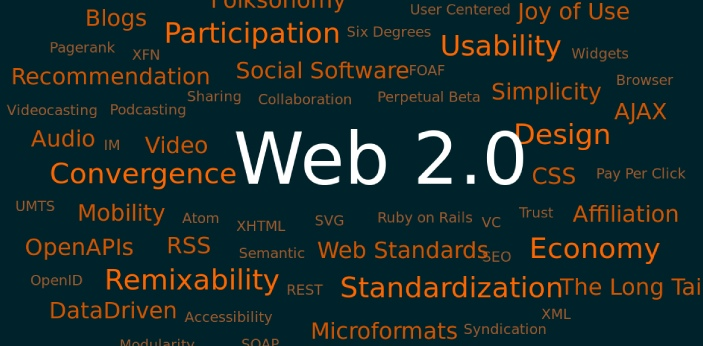 Talking about Web 2.0, this only represents the improvement or total changes in the internet since