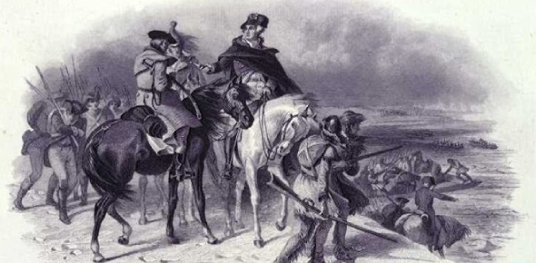 During the Revolutionary War, the French and others discouraged George Washington from attacking