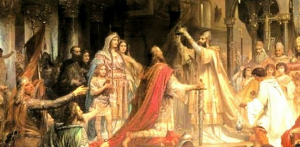 Why was the title of Holy Roman emperor given in the first place?