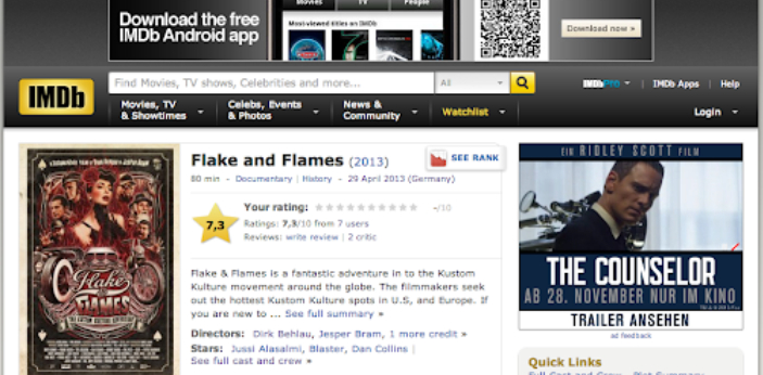 IMDb TV is a free ad-supported streaming video platform available to users in the United States.