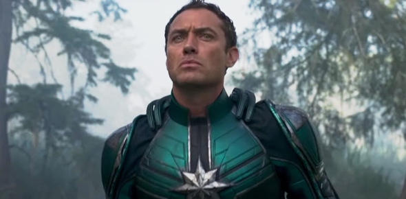 What role will Jude Law play in the new Captain Marvel movie?