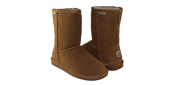 Uggs and Bearpaw are two fashionable cold weather boots in the market. The most notable difference