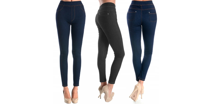 Leggings are known to be made of a lightweight material that will usually be stretchy. Some