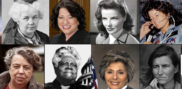Who is the most influential woman in our history so far?