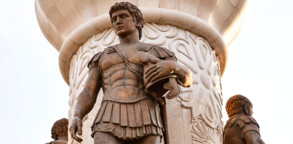 Alexander the Great was not able to conquer India because of the formidable European army that had