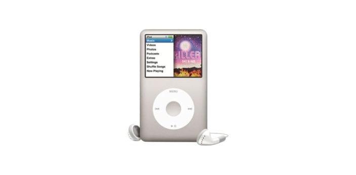 iPod, which is a very popular music player device was released by Apple in 2001. MP3, being a kind