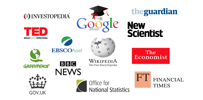 There are many factors that can make a source non-credible. For example, if the source has only