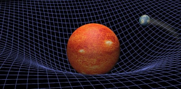 The sun's gravity is 28 times that of the Earth's. The more mass an object has, the