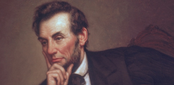 How did Lincoln win re-election even though he was opposed?