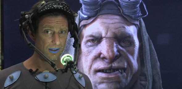 Which were the first games to feature motion capture?