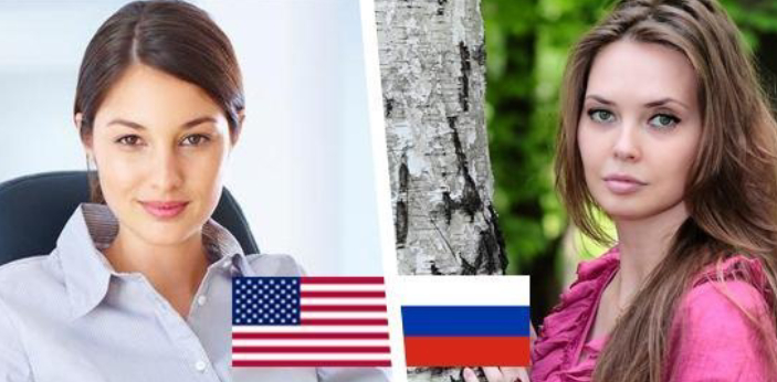 Russian and American women are different in some ways. Since the question is majorly about women,