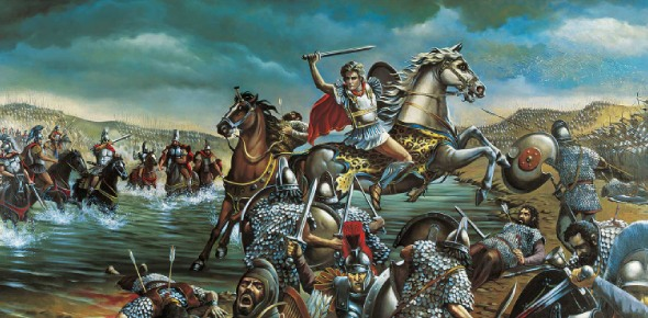 Alexander The Great was a king from Macedonia who conquered an empire. The empire stretched out