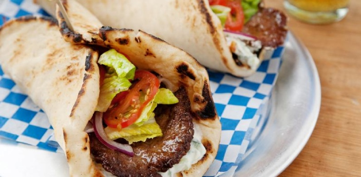 Gyro is very special and delicious and has its source from Greece, it comprises of meats onions,