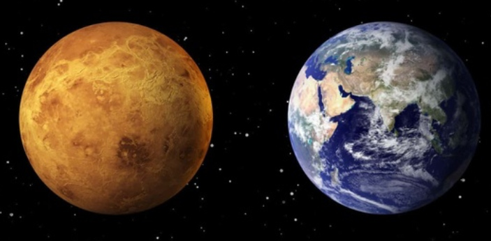 There are a lot of people who say that Venus has to be the Earth's twin because they have