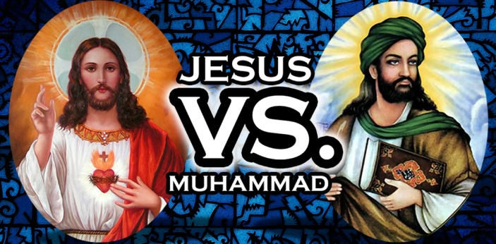 Mohammed is reported to have lived 600 years after Jesus, and the two of them had very different